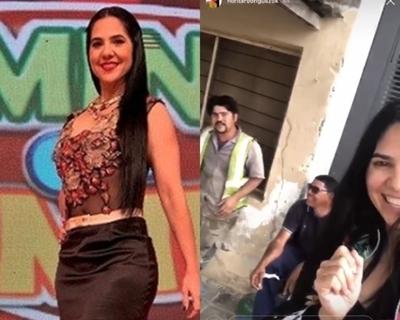 Norita Rodríguez impulsa campaña para alegrar a paraguayos