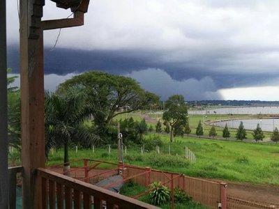 Pronostican lluvias y tormentas eléctricas para 6 departamentos