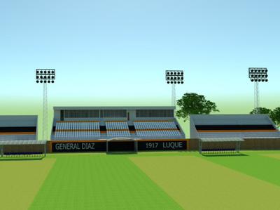 El estadio Adrián Jara ampliará su aforo