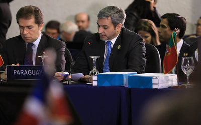 Mario Abdo reafirmó en Cumbre Iberoamericana compromiso con la educación