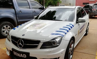 HOY / Vehículos (algunos de alta gama) de narcos ahora utilizados para el combate contra el crimen