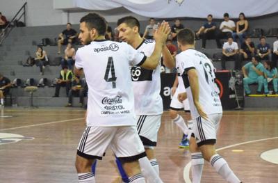 Olimpia avanza a tercera fase en la Copa Paraguay de Futsal FIFA