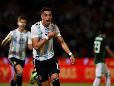 Argentina vence a México en el primer amistoso en Córdoba