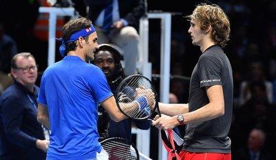 Zverev elimina a Federer y alcanza la final del Masters