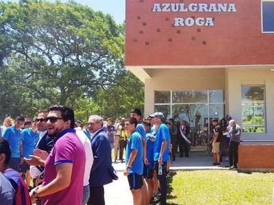 Cerro Porteño inaugura el Azulgrana Róga en Ypané
