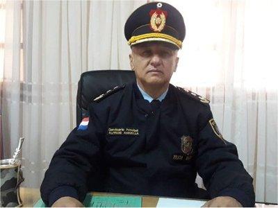 Cambian a jefe de Policía en Guairá