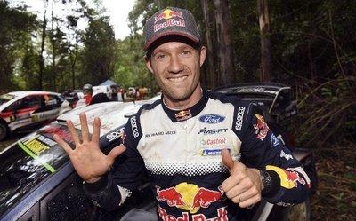 Latvala gana en Australia, pero Ogier es el campeón del Rally