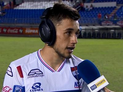 Sergio Fretes, la figura del partido