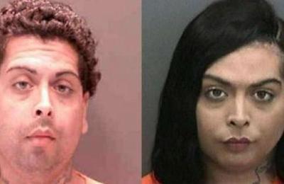 Buscan a hombre que se disfrazó de mujer y robó un cachorro de una tienda