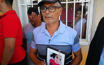 Padre de Lidia Meza pide justicia para su hija