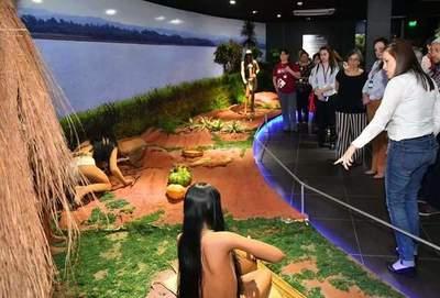 """Exitosa """"Noche de los Museos"""" en Pilar, Yaguarón y Hernandarias"""