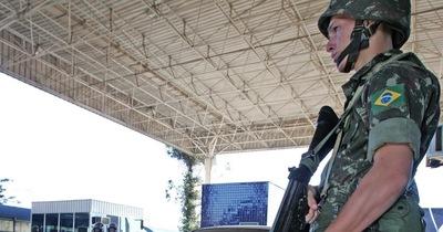 Ejército brasileño se suma a la segunda fase de la Operación Muralla