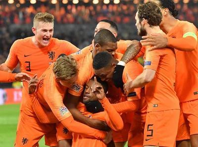 Holanda clasificó al Final Four de la UEFA NATIONS LEAGUE