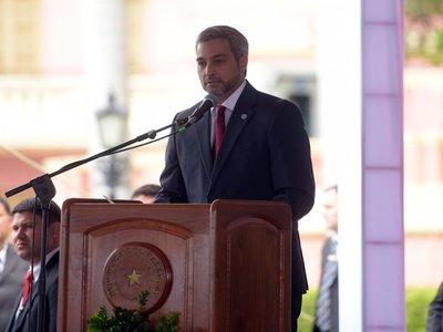 Mario Abdo anuncia veto si se sanciona el doble blindaje en el Congreso