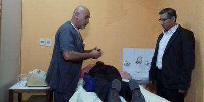 Inauguran sala de fisioterapia en policlínico San Miguel