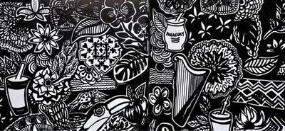 Inauguran la exposición 'Contraviento' del artista plástico José Quevedo