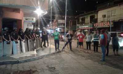 Movilización 36, con represión y enfrentamientos