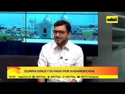 Olimpia Kings y su paso por Sudamericana