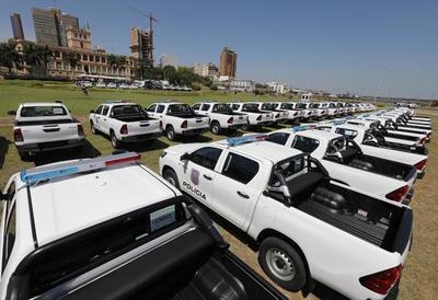 Policía Nacional recibirá nuevos móviles con apoyo de Yacyretá