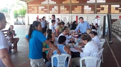 Asistencia sanitaria llega a casi tres mil damnificados en Asunción