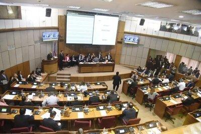 Senadores de Patria Querida y Hagamos presentaron un proyecto para derogar el artículo 97 del reglamento interno de la Cámara