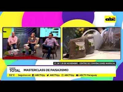 Masterclass de Paisajismo