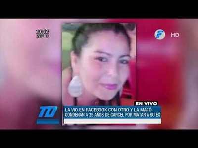 La vio en Facebook con otro y la mató