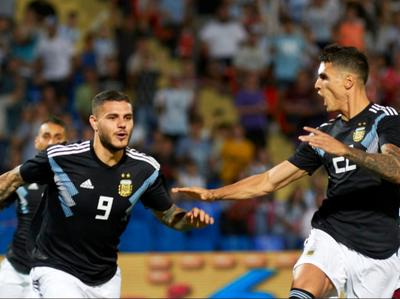 Argentina venció a México en un amistoso