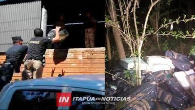 CERCA DE UNA TONELADA DE MARIHUANA FUE DESTRUIDA EN ENCARNACIÓN