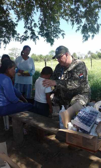 Realizan asistencia médica a comunidades aisladas