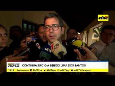 Continúa juicio a Sergio Lima Dos Santos