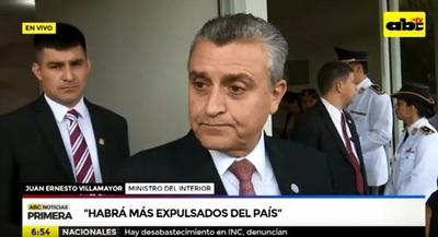 Expulsarán a más criminales brasileños, anuncia ministro