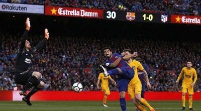 Atlético-Barcelona, por la cima de la Liga