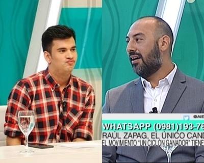 """Raúl Zapag y un tenso momento con panelista de """"Al Estilo Pelusa"""""""