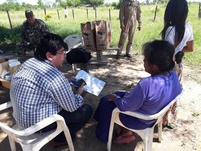 Asisten a comunidades indígenas aisladas de Pinasco