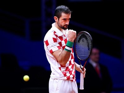 Cilic da el segundo punto a Croacia al ganar a Tsonga