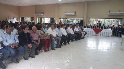 San Pedro: presentan informe de 100 días de gobierno departamental