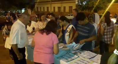 """Realizaron la """"Expo Corrupción"""" en Concepción"""