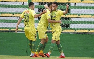 Defensa y gol paraguayo