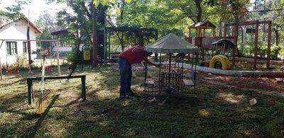 Respondiendo a denuncias limpian sitio histórico de San Lorenzo