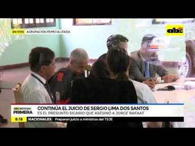 Continúa el juicio de Sergio Lima Dos Santos