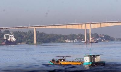 Río Paraguay: Registran leve descenso en Asunción
