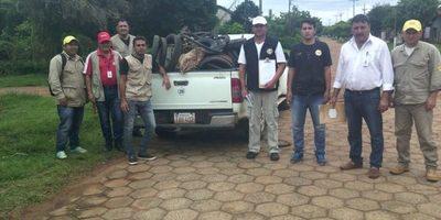 Minga ambiental en el barrio Santa Librada