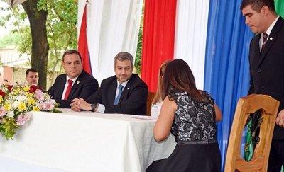 Marito presenta ambicioso plan de desarrollo para el Chaco