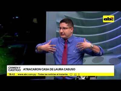 Atracaron la casa de Laura Casuso
