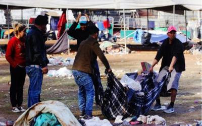 clausuran el más grande albergue de migrantes