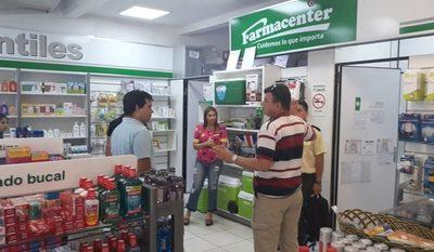 Delincuentes nuevamente asaltan farmacia en el barrio San Miguel de Ciudad del Este