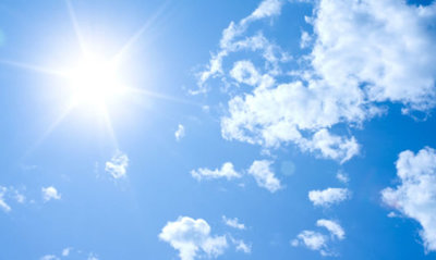 Pronostican jornada soleada con clima agradable en todo el país