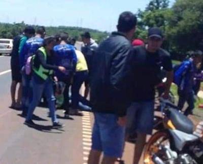 Perdió la vida tras ser embestido por motociclistas que peregrinaban a Caacupé – Prensa 5