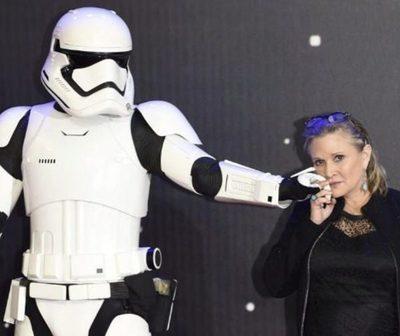 Disney recibiría millones de dólares por el fallecimiento de Carrie Fisher